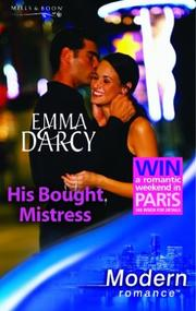 Cover of: HIS BOUGHT MISTRESS by Emma Darcy