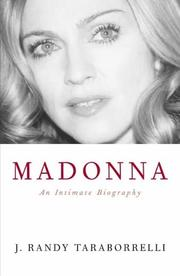 Cover of: Madonna by J. Randy Taraborrelli