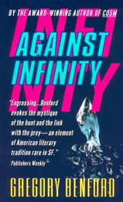Cover of: Against infinity by Gregory Benford