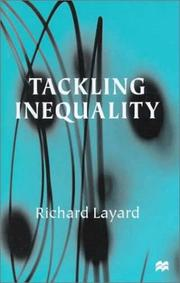 Cover of: Tackling inequality by P. R. G. Layard