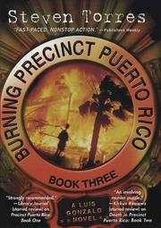 Cover of: Burning precinct Puerto Rico by Steven Torres