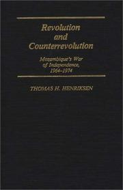 Cover of: Revolution and counterrevolution by Thomas H. Henriksen