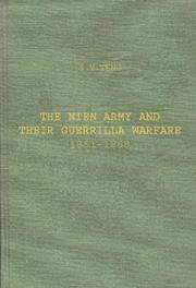 Cover of: The Nien army and their guerrilla warfare, 1851-1868 by Ss-y Tng