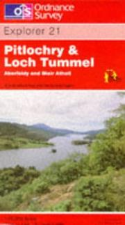 Cover of: Pitlochry and Loch Tummel by Ordnance Survey