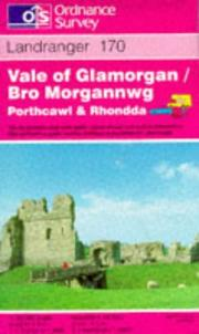 Cover of: Vale of Glamorgan, Rhondda and Porthcawl by Ordnance Survey