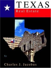 Cover of: Texas real estate by Charles J. Jacobus