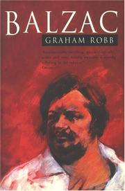 Cover of: Balzac by Graham Robb