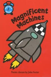 Cover of: Magnificent Machines (Time for a Rhyme) by John Foster
