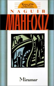 Cover of: Miramar by Naguib Mahfouz