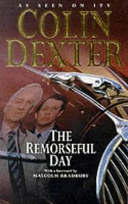 Cover of: The remorseful day by Colin Dexter