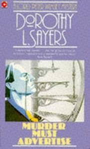 Cover of: Murder must advertise by Dorothy L. Sayers