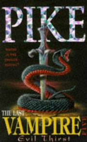 Cover of: The last vampire by Christopher Pike
