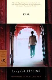 Cover of: Kim by Rudyard Kipling