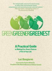 Cover of: Green, greener, greenest by Lori Bongiorno