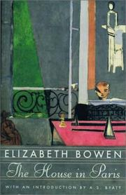 Cover of: The house in Paris by Elizabeth Bowen