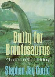 Cover of: Bully for Brontosaurus by Stephen Jay Gould