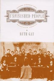 Cover of: Unfinished People by Ruth Gay