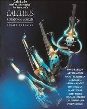 Cover of: Calclabs With Mathematica for Stewart's Calculus: Concepts and Contexts | James Stewart