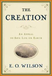 Cover of: The Creation by Edward Osborne Wilson