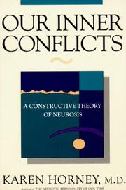 Cover of: Our inner conflicts by Karen Horney