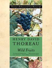 Cover of: Wild Fruits by Henry David Thoreau