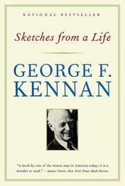 Cover of: Sketches from a Life by George Frost Kennan