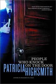 Cover of: People who knock on the door by Patricia Highsmith