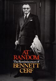 Cover of: At Random by Bennett Cerf