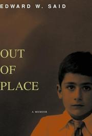 Cover of: Out of Place by Edward W. Said