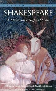 Cover of: Midsummer night's dream by William Shakespeare
