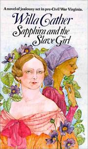 Cover of: Sapphira and the slave girl by Willa Cather