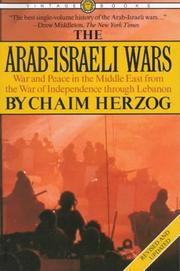 Cover of: The Arab-Israeli wars by Chaim Herzog