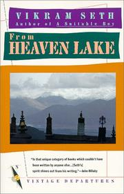 Cover of: From Heaven Lake by Vikram Seth