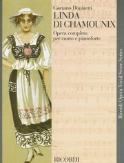Cover of: Linda di Chamounix by Gaetano Donizetti