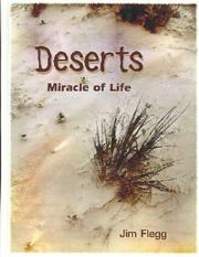 Cover of: Deserts by Jim Flegg