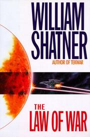 Cover of: The law of war by William Shatner