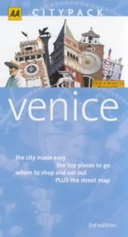 Cover of: Venice by Tim Jepson