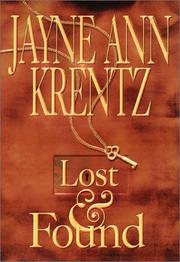 Cover of: Lost and Found by Jayne Ann Krentz