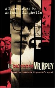 Cover of: The talented Mr. Ripley by Phyllis Nagy