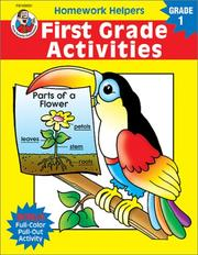 Cover of: Homework Helper First Grade Activities (Homework Helpers) by School Specialty Publishing