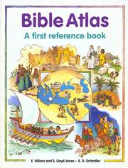 Cover of: Bible atlas by Etta Wilson