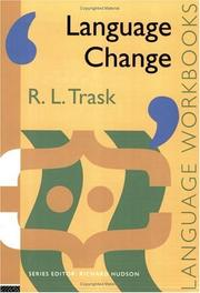 Cover of: Language change by R. L. Trask