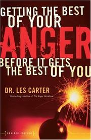 Cover of: Getting the Best of Your Anger by Les Carter