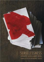 Cover of: Senselessness by Horacio Castellanos Moya
