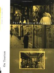 Cover of: Performance Research 2:1 by Richard Gough