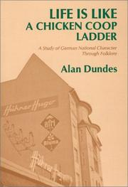 Cover of: Life is like a chicken coop ladder by Alan Dundes