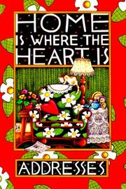 Cover of: Address Book-Home is Where the Heart is by Mary Engelbreit