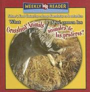 Cover of: What Grassland Animals Eat/ Que Comen Los Animales De Las Praderas? by Joanne Mattern