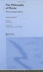 Cover of: Philosophie des Geldes by Georg Simmel