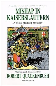Cover of: Mishap in Kaiserslautern by Robert M. Quackenbush